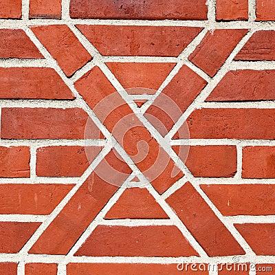 Artistic brickwork
