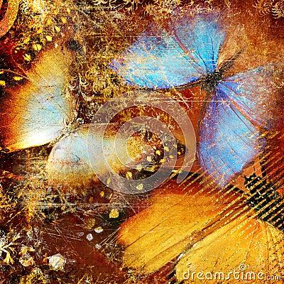 Artistic butterflies