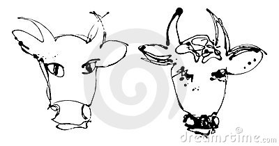 Artistic cow - version