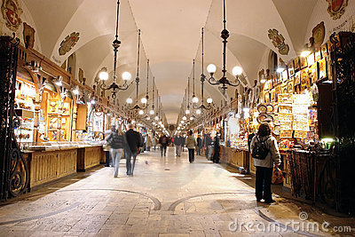 Artistic craft stalls