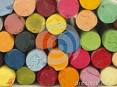 Artistic crayons