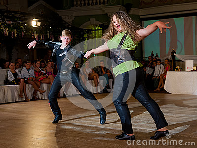 Artistic Dance Awards 2012-2013 Editorial Photo