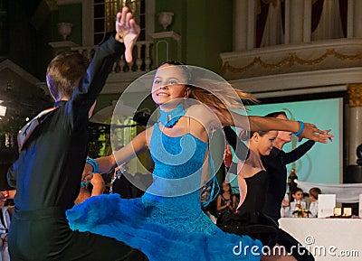 Artistic Dance Awards 2012-2013 Editorial Image