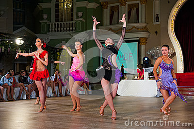 Artistic Dance Awards 2012-2013 Editorial Stock Image