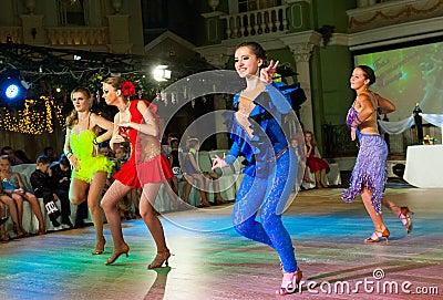 Artistic Dance Awards 2012-2013 Editorial Stock Image