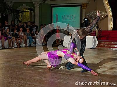 Artistic Dance Awards 2012-2013 Editorial Stock Photo
