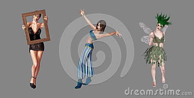 Artistic Digital Characters