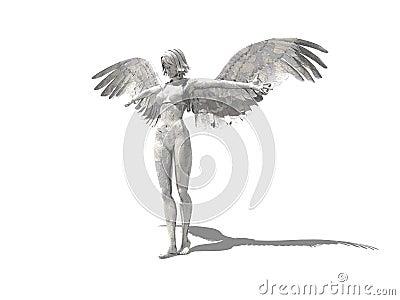 Artistic female angel