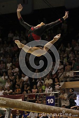 Artistic Gymnastics Editorial Photo