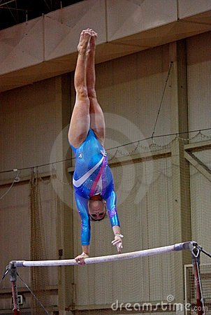 Free Artistic Gymnastics International Competition Stock Image - 16334691