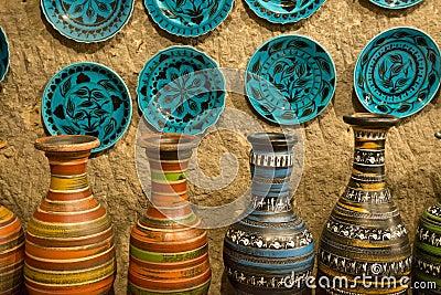 Artistic Handmade Clay Pottery