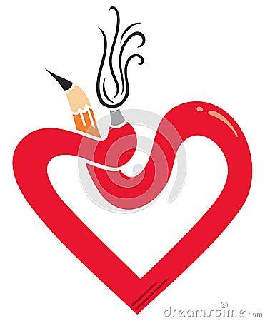 Artistic heart