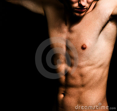 Free Artistic Image Of Muscular Sexy Man Body Royalty Free Stock Photography - 8749217
