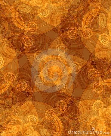 Artistic Pattern Texture Brown