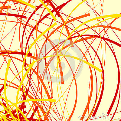 Free Artistic Pattern With Random, Chaotic Curved Lines, Distorted As Stock Photo - 81789070