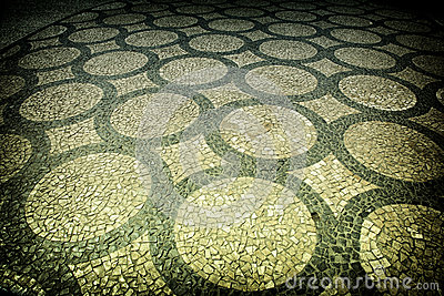 Artistic pavement