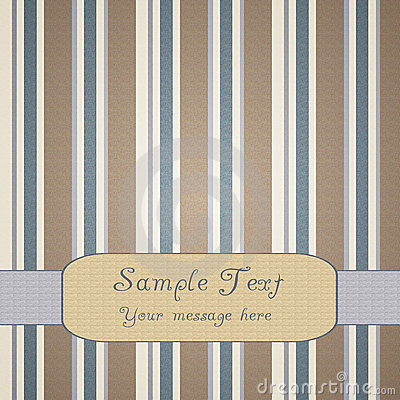 Artistic striped background