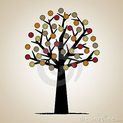 Artistic tree design