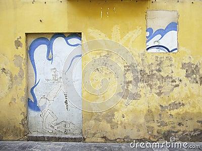 Artistic wall