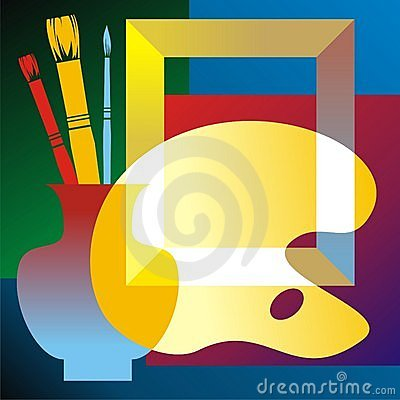 Free Artists Attributes Stock Photography - 9763052