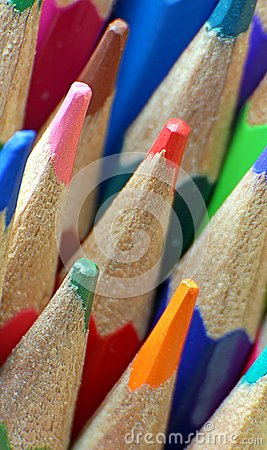 Free Artists Colouring Pencils Stock Image - 103306551