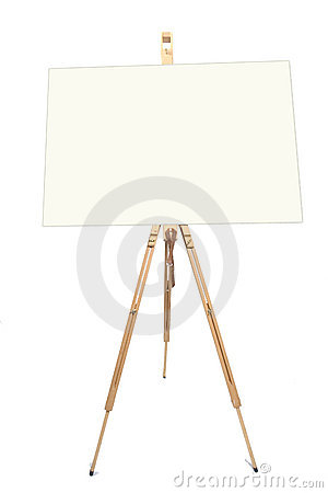 Free Artists Easel Stock Photography - 161432