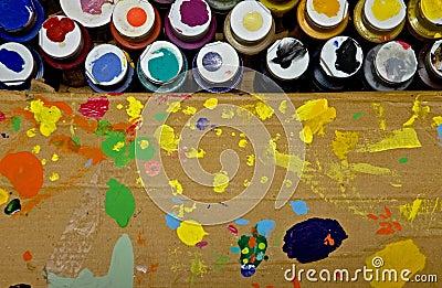 Artists Paint Box