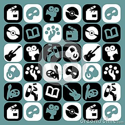 Arts icons