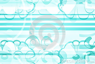 Artsy blue and white design paper