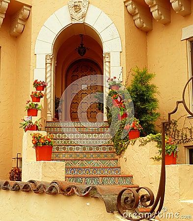 Artsy entrance