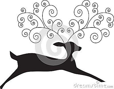 Artsy Reindeer