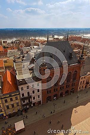 Artus Court, market square Torun, Poland