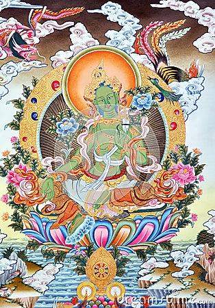 Artwork in Tibet culture