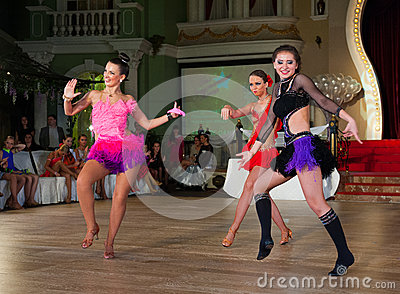 Artystyczny taniec Nagradza 2012-2013 Zdjęcie Editorial