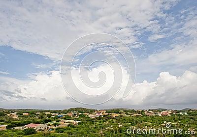 Aruba island landscape