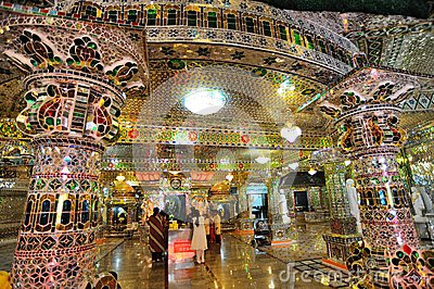 The Arulmigu Sri Rajakaliamman Glass Temple Editorial Image