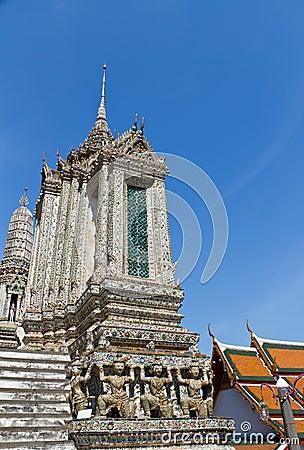 Arun Temple in Bangkok, Thailand