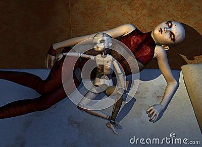 As bonecas assombradas nunca dormem
