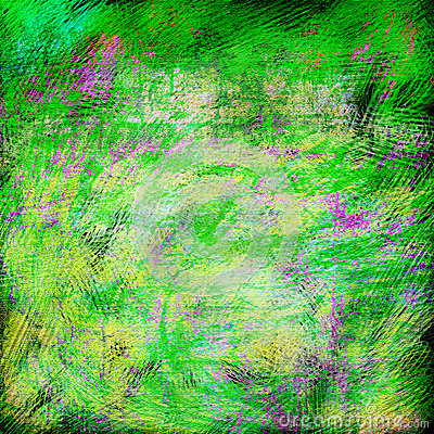 As cores brilhantes da mola textured o fundo abstrato