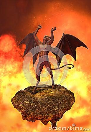 As raivas do diabo no inferno