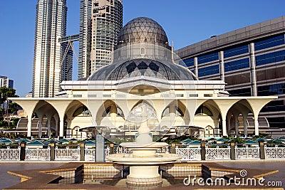 The As Syakirin Mosque Editorial Stock Photo