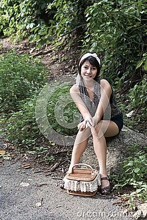 Asain girl portrait