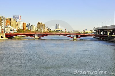 Asakusa bridge Editorial Stock Photo
