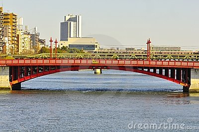 Asakusa bridge Editorial Photo