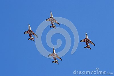 Asas de Portugal performing at Red Bull Air Show Editorial Image