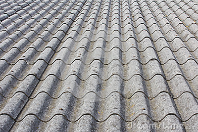 Asbestos Country House Roof