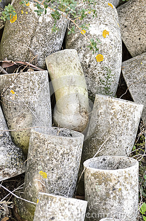 Free Asbestos Pipes Abandoned Stock Photo - 37718700