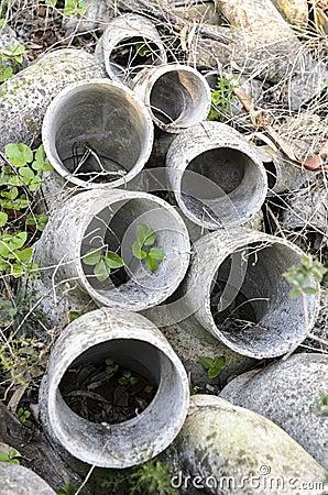 Free Asbestos Pipes Abandoned Stock Photo - 37718900