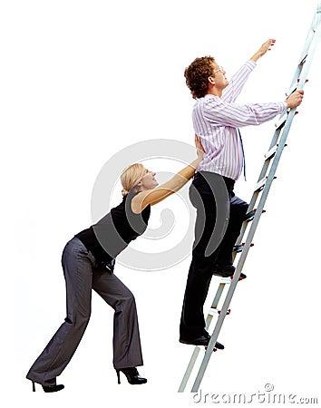 Ascending the ladder
