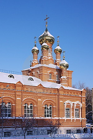 Ascension Church in the town of Perm